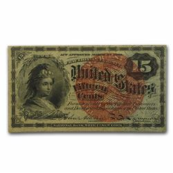 15 Cent Fractional Currency Note