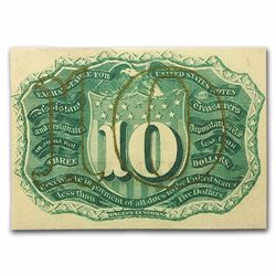 10 Cent Fractional Currency Note