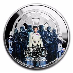 2017 $2 Star Wars Rogue One Empire Niue Silver Coin