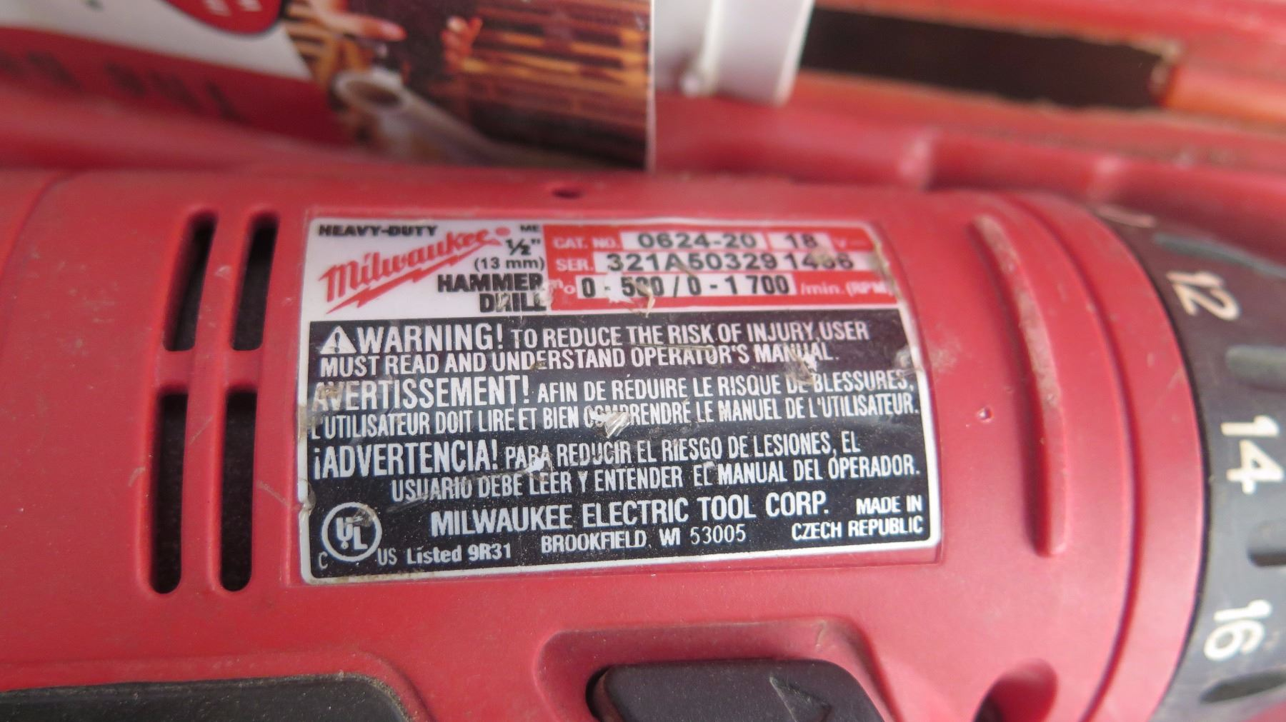image 8 milwaukee cordless hammer drill and band saw wbattery