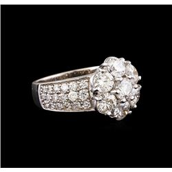 14KT White Gold 2.42 ctw Diamond Ring