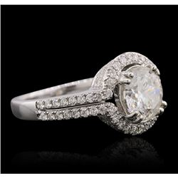 18KT White Gold 2.52 ctw Diamond Ring