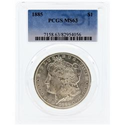 1885 PCGS MS63 Morgan Silver Dollar