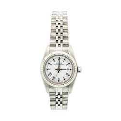 Rolex Ladies Oyster Perpetual Model Stainless Steel Watch