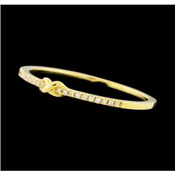 0.05 ctw Diamond Ring - 14KT Yellow Gold