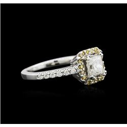 14KT White Gold 1.26 ctw Diamond Ring