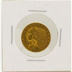 1916-S $5 XF Indian Head Half Eagle Gold Coin