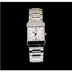 Concord Crystal Watch - 18K White Gold