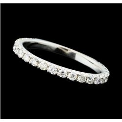 0.45 ctw Diamond Band - 14KT White Gold