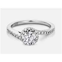 Diamond Ring - 14KT  White Gold