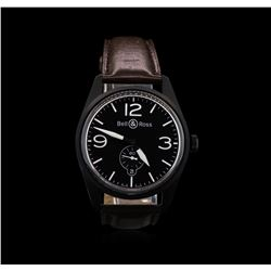 Bell & Ross Stainless Steel Black PVD Mens Watch