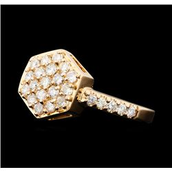0.50 ctw Diamond Ring - 14KT Rose Gold
