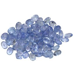 14.78 ctw Oval Mixed Tanzanite Parcel