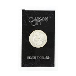 1882 Carson City Uncirculated Silver Dollar
