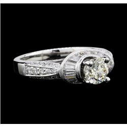 1.83 ctw Diamond Ring - 18KT White Gold