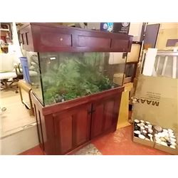 Fish tank and stand 90 gal tank with pump plants food for 90 gallon fish tank stand