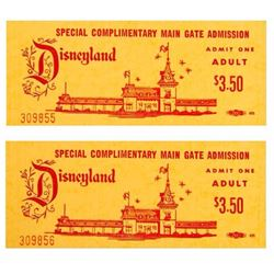Pair of Complimentary Adult Admission Tickets.