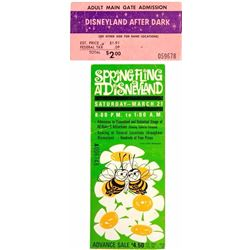 Pair of Disneyland Special Event Tickets.