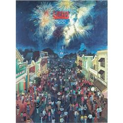 """1984 """"Olympic Nights at Disneyland"""" Collection."""