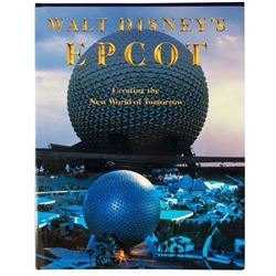 Multi-Signed  EPCOT  Grand Opening Book.