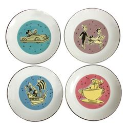 Canape plate set limited edition for Canape plate sets