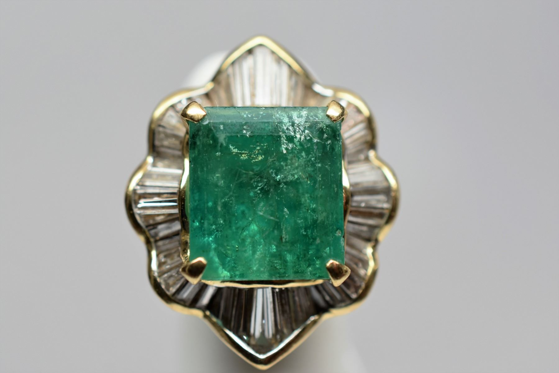 cut diamond halo product zaltas ring engagement emerald