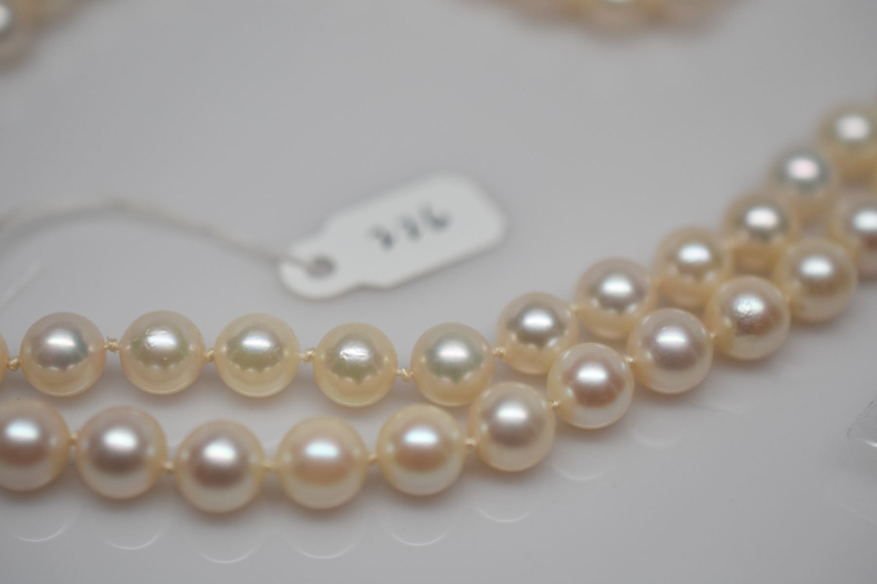 Image 6 : Double Strand Pearl Necklace 18