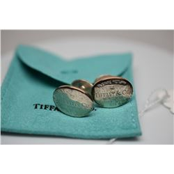 Tiffany & Co. Classic Sterling Silver Cuff Links