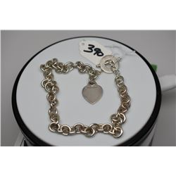 """Tiffany & Co. Sterling Silver Link Necklace 16 1/2"""""""