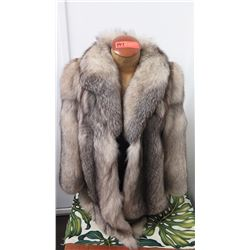 Authentic Fur Coat - Silver Fox, Stroller (Dietrich Dornblut, Wurzburg)