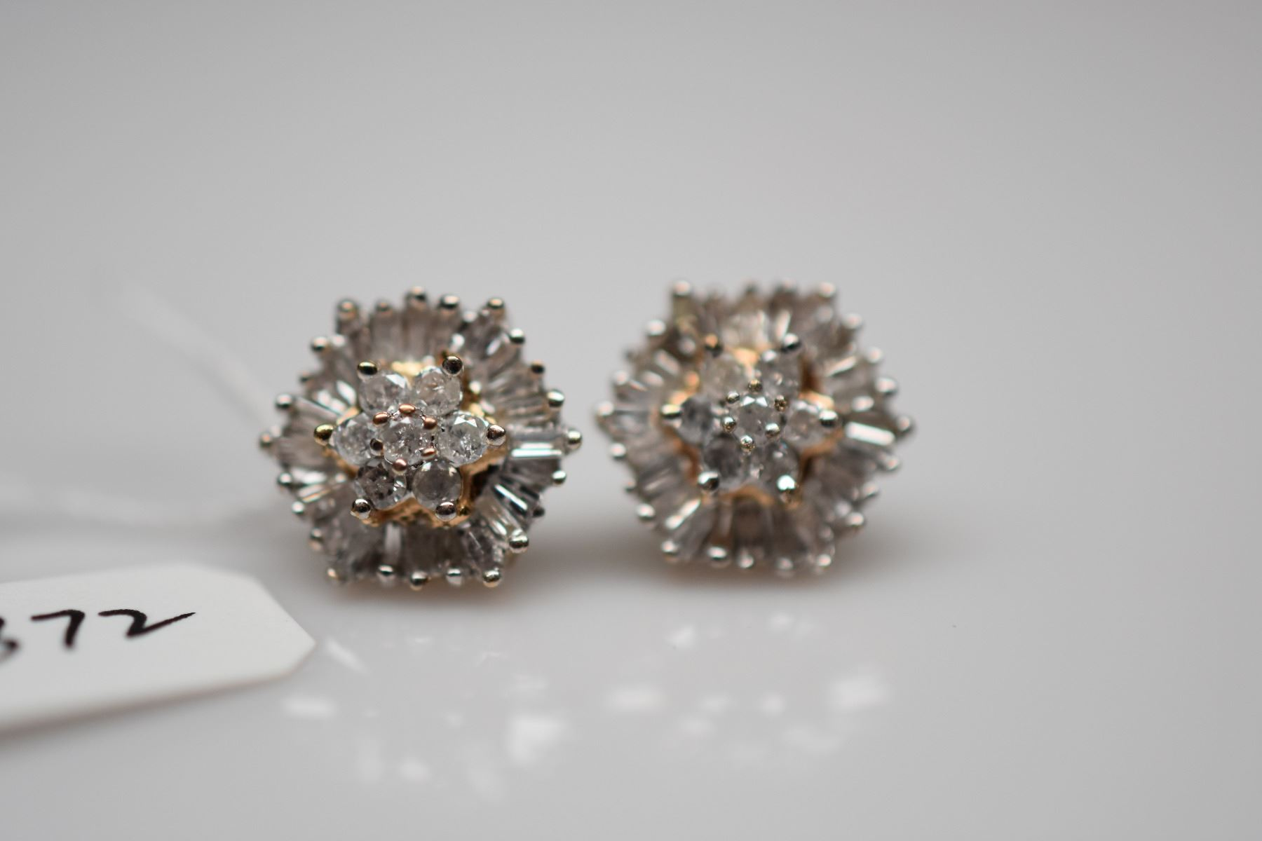 pearl brown earrings new stud buy rose gold halo with arrivals tcw of diamond