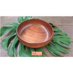 "Koa Wood Bowl - Approx. 13"" Diameter, 3 3/4"" H"