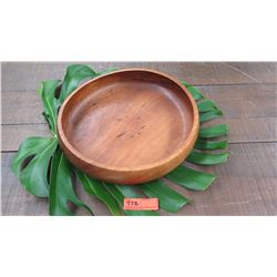 "Wood Bowl - Approx. 15 1/2"" Diameter, 3 3/4"" H"