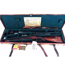Off the charts Mannlicher-Schonauer rifle and case