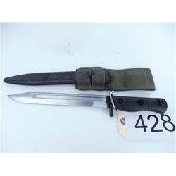 Canadian FNC1A1 bayonet with scabbard and frog