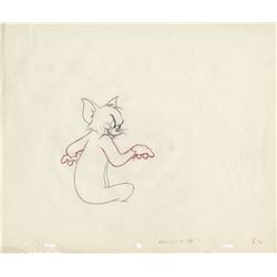 Tom production drawings (3) from the Academy Award-winning Tom and Jerry short Johann Mouse.