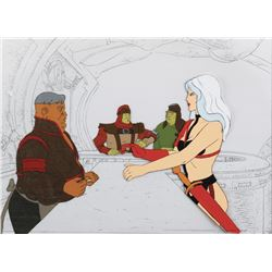 """Taarna"" at the Bar production cels from Heavy Metal."