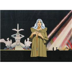 """Taarna"" production cel from Heavy Metal."