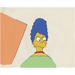 """Marge Simpson"" production cel from The Tracy Ullman Show."