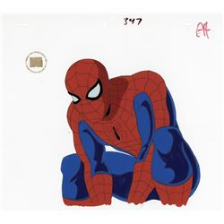"""Spider-Man"" production cel from Spider-Man: The Animated Series."
