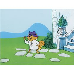 """Secret Squirrel"" production cel on a production background from The Atom Ant/Secret Squirrel Show."