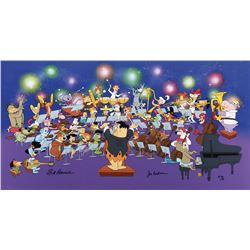 """Symphony of the Stars"" limited edition pan cel from Hanna and Barbera."