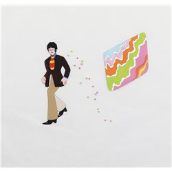 """Paul McCartney"" and ""Geometric Screen"" and screen production cels from Yellow Submarine."