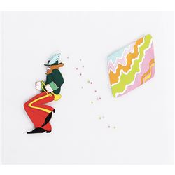 """""""Ringo"""" and """"Geometric Screen"""" production cels from Yellow Submarine."""