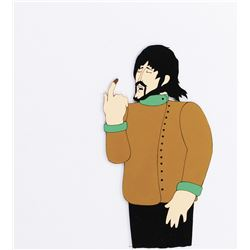 """George Harrison"" production cel from Yellow Submarine."