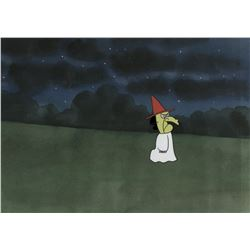 """""Lucy"" production cel from ""It's the Great Pumpkin, Charlie Brown""on a production background."