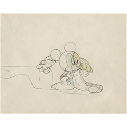 """Mickey Mouse"" production drawing from the ""Sorcerer's Apprentice"" segment of Fantasia."