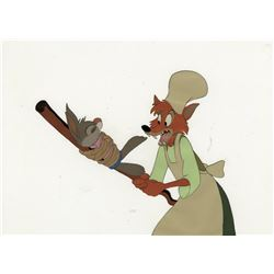 """Br'er Fox"" and ""Br'er Rabbit"" production cel from Song of the South."