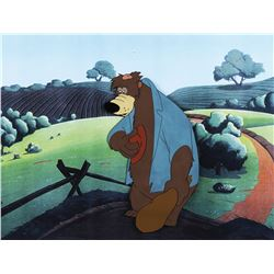 """Br'er Bear"" production cel from Song of the South."