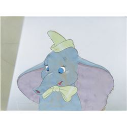 """Dumbo"" production cel on a production background from Dumbo."
